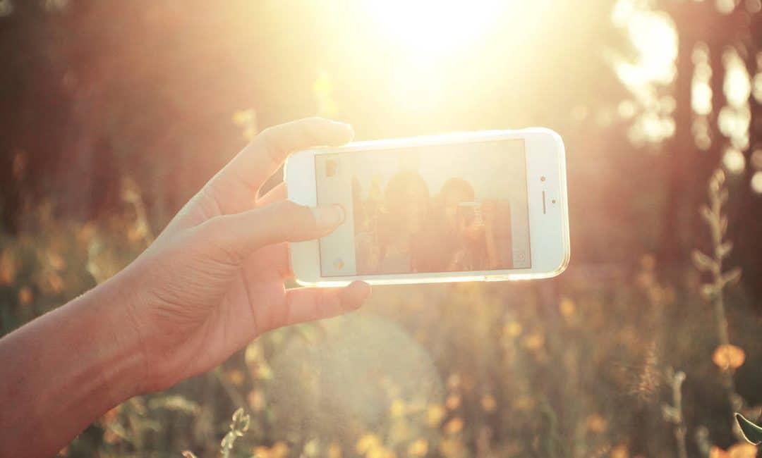Smartphone verslaving tijdens vakantie