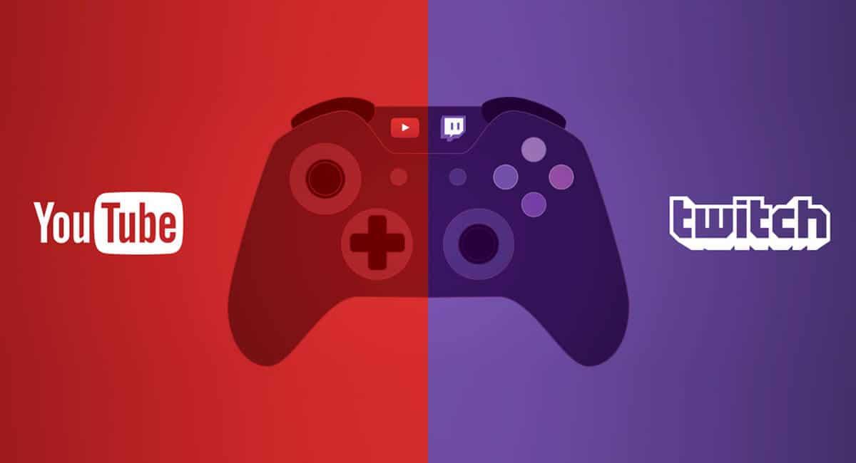 YouTube en Twitch