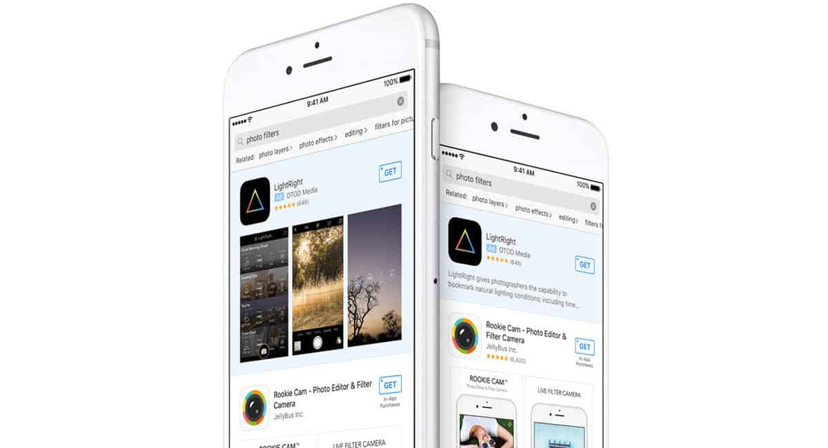Apple App Store tekstadvertenties