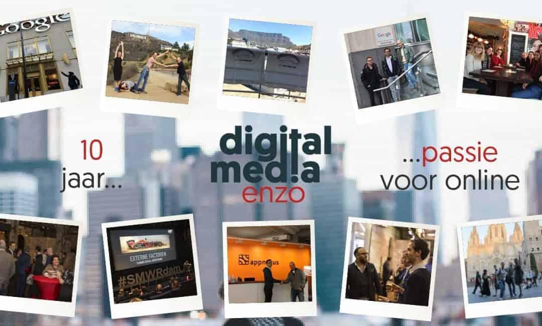 Digital Media Enzo bestaat 10 jaar