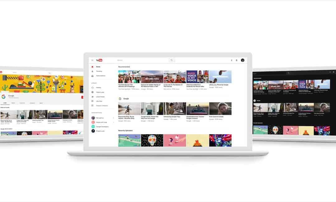 Nieuwe YouTube features en design