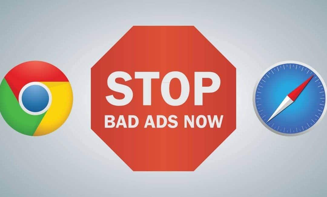 Apple en Google gaan advertenties blokkeren