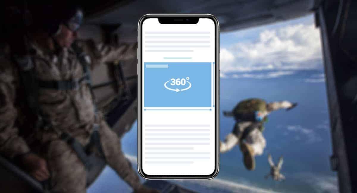 360º video