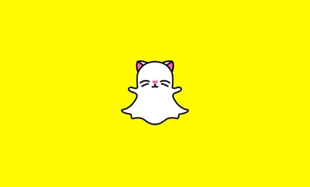 Snapchat selfie-lens voor katten en Snapchat Originals