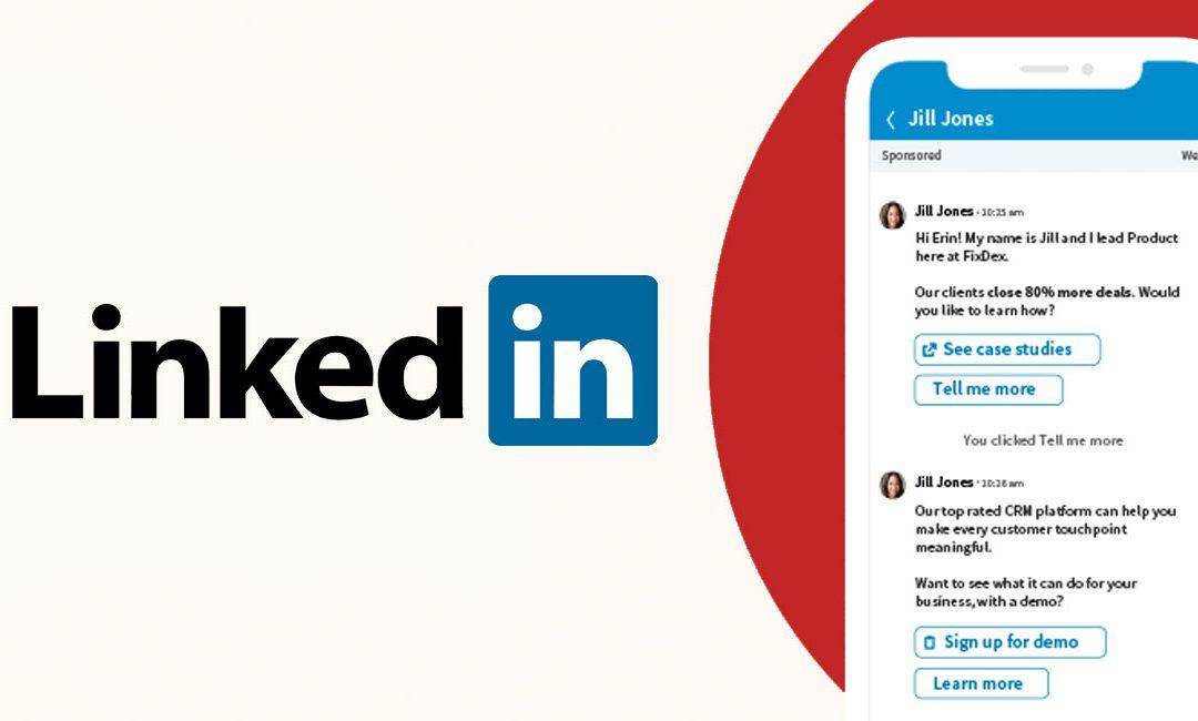 LinkedIn introduceert Conversation ads