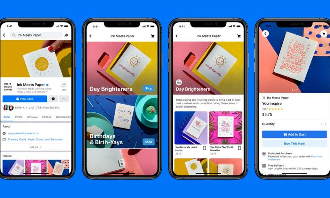 Facebook zet stap in e-commerce met Facebook Shops